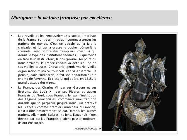 Marignan – la victoire française par excellence • Les  réveils  et  les  renouvèlements  subits,...