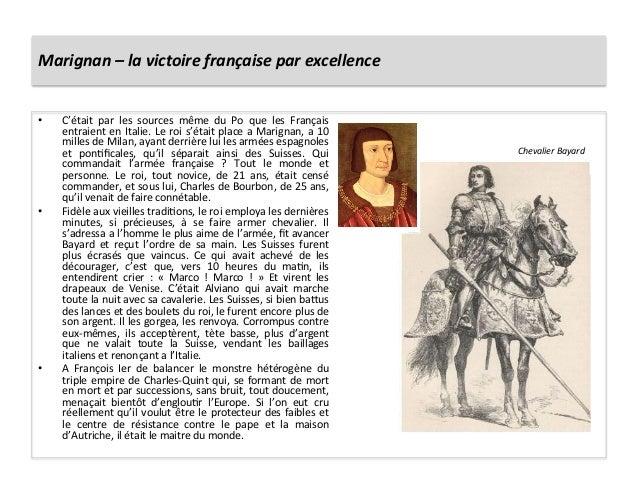 Marignan – la victoire française par excellence • C'était  par  les  sources  même  du  Po  q...