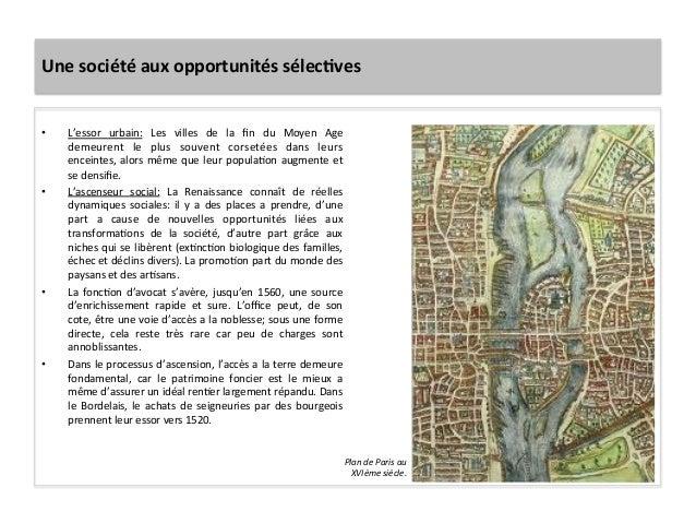 Une société aux opportunités sélecJves • L'essor  urbain:  Les  villes  de  la  fin  du  Moyen ...