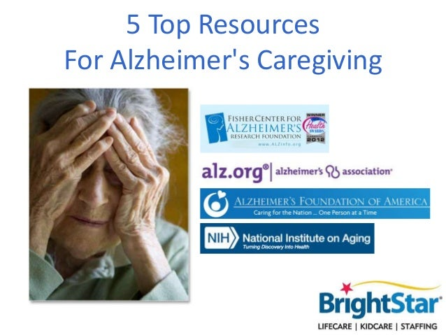 5 Top Resources For Alzheimer's Caregiving