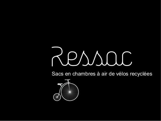 Sacs en chambres à air de vélos recyclées