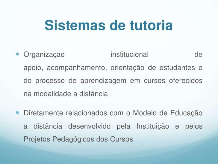 Características dos Sistemas de Tutoria Slide 3