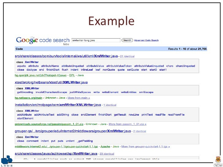 Example source answers for usefulness and