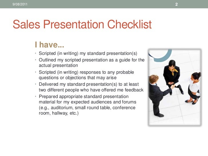 5. sales training making professional presentations