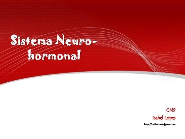 Sistema Neuro-   hormonal