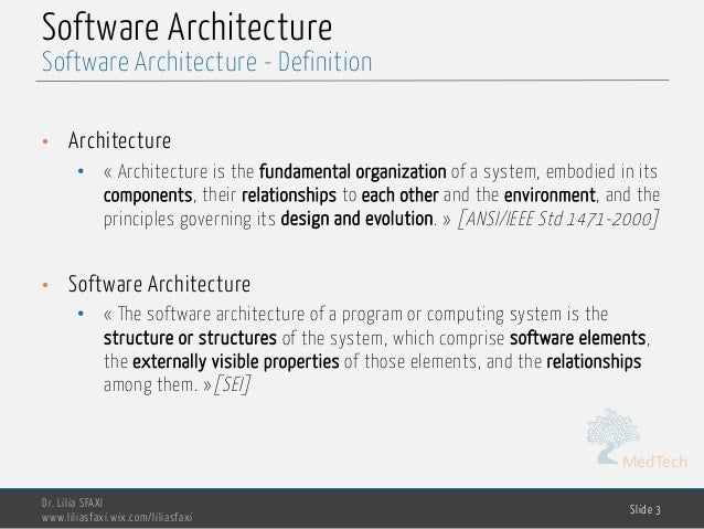 software engineering definition