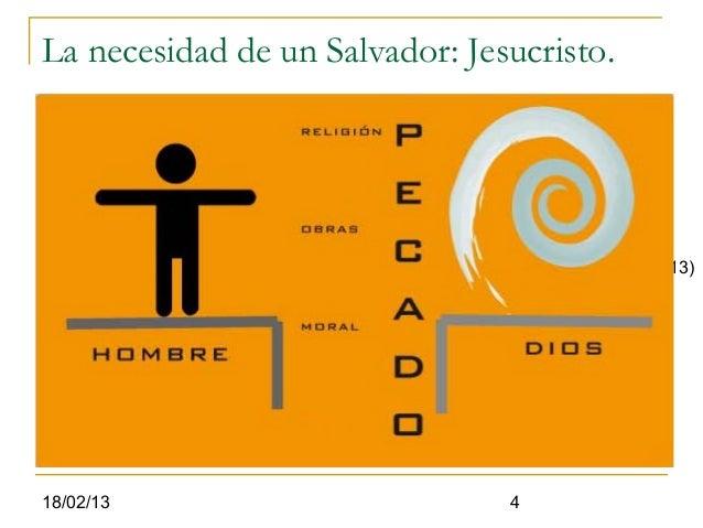 La necesidad de un Salvador: Jesucristo.                         Emanuel                      Dios con los hombres        ...