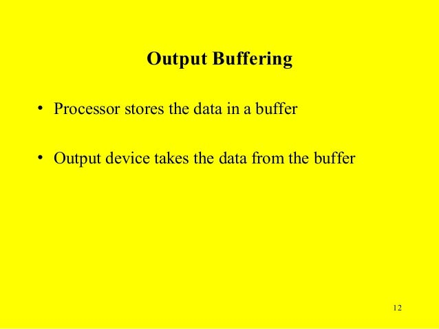 What Is Spooling & Buffering?