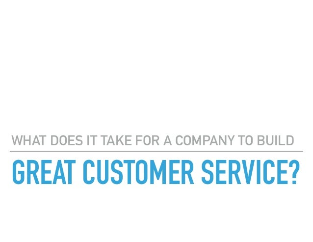 The Five Star Customer Service Experience