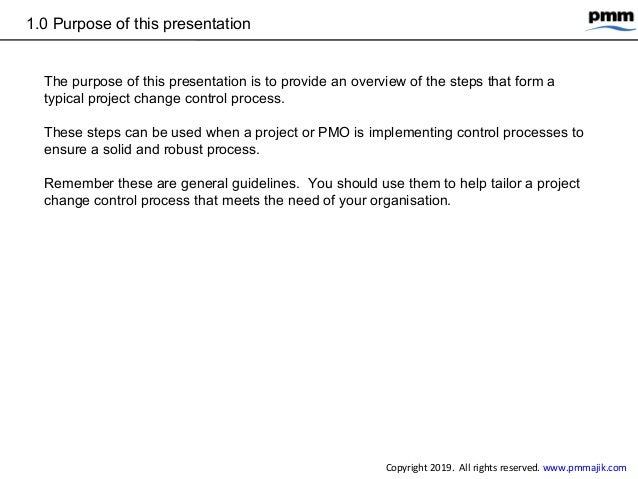 5 steps project change control process Slide 3