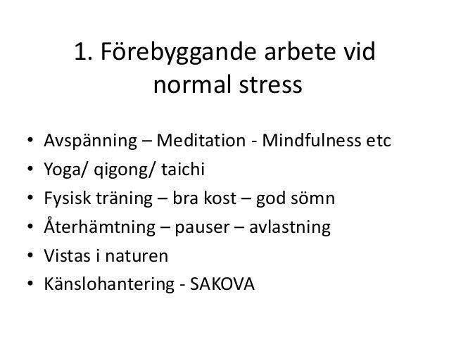 diarre vid stress