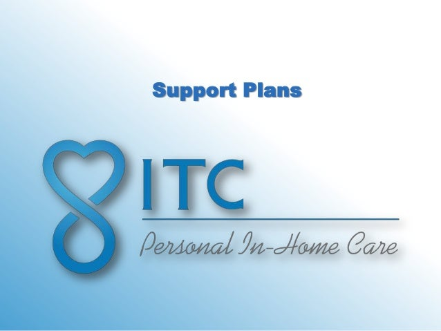 Support Plans