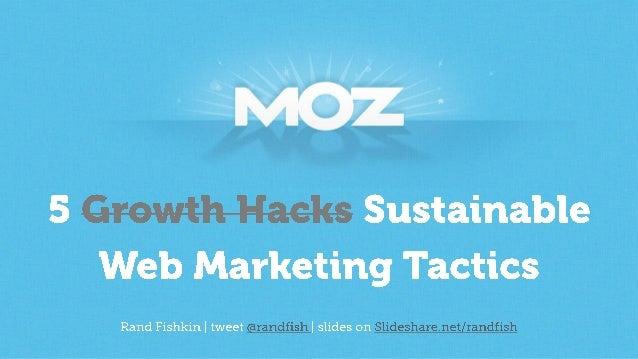 5 Sustainable Growth Hacks