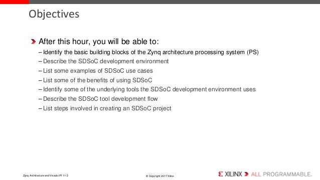 System Design on Zynq using SDSoC
