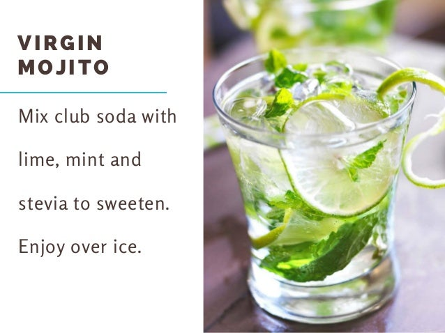 healthier alternatives to soda 2 virgin mojito 3