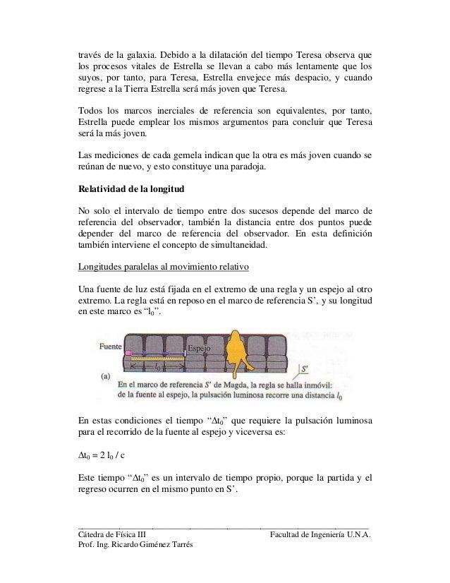 5 teoría relatividad