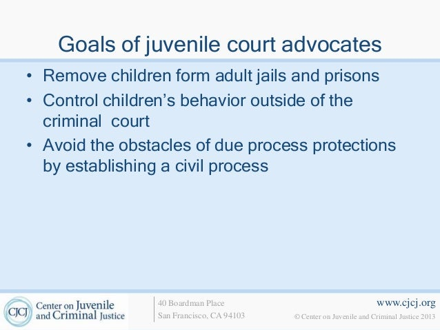 the trend of remanding juveniles to adult court for processing One of the more hotly debated subjects with regard to juveniles has to do with the option to waiver to adult court currently, there are three mechanisms by which a juvenile's case may be waived to an adult court.