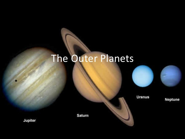 outer planets and their characteristic - photo #9