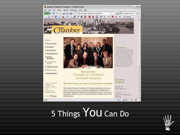 5 Things  You  Can Do