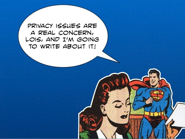 Privacy issues are  a real concern,  lois, and I'm going  to write about it!