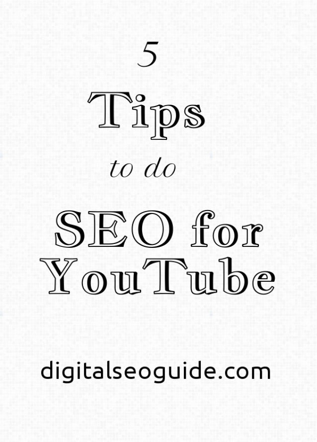3 4 5 6 7 8 Table of Contents Tips to do SEO for YouTube Tips to do SEO for YouTube Tips to do SEO for YouTube Tips to do ...