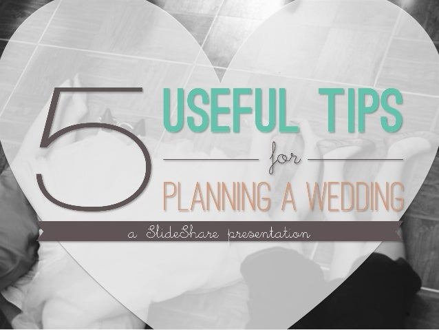 Now, you're planning a wedding. Between choosing decorations, planning the guest list and booking the venue, there are man...