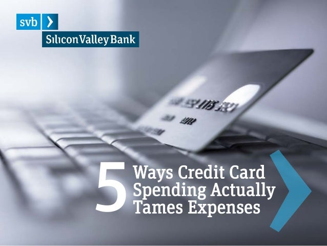 Optional footer for footnotes or global title of presentation 1 Ways Credit Card Spending Actually Tames Expenses5