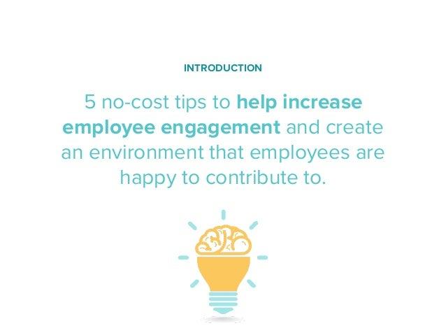 5 Ways to Increase Employee Engagement Slide 2