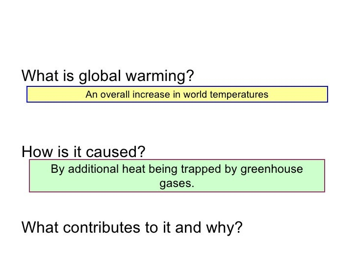 evidence against global warming essay The proof that man-made co2 is causing global warming is like the chain of evidence in a court case co2 keeps the earth warmer than it would be without it.