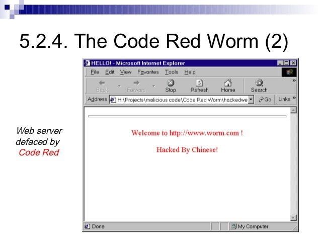 5 worms and other malware