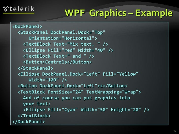 WPF Graphics and Animations
