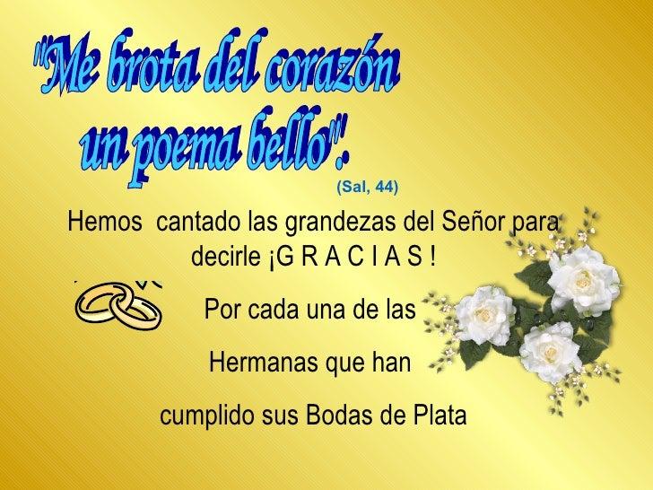 Poemas De Aniversario: 50 Aniversario De Bodas Poemas 14919