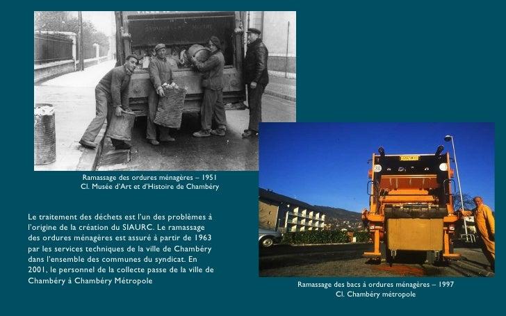 Ramassage des ordures ménagères – 1951 Cl. Musée d'Art et d'Histoire de Chambéry Ramassage des bacs à ordures ménagères – ...