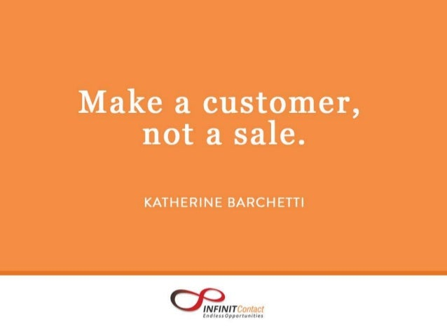 50 Customer Service Quotes to Motivate You for 2015 [Infinit Contact] Slide 3