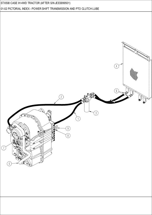 Case Tractor Clutch Assembly Diagram
