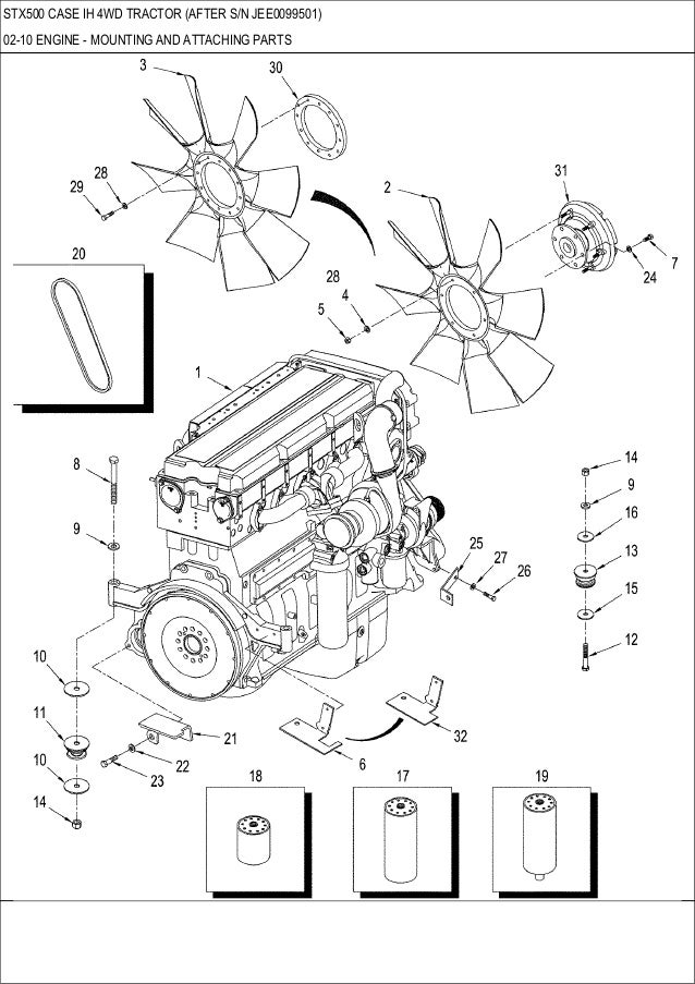 Case 863 Engine Diagram