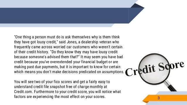 credit score loan scores