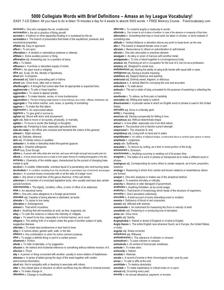 Gemtlich Anatomy And Physiology Vocabulary List Galerie