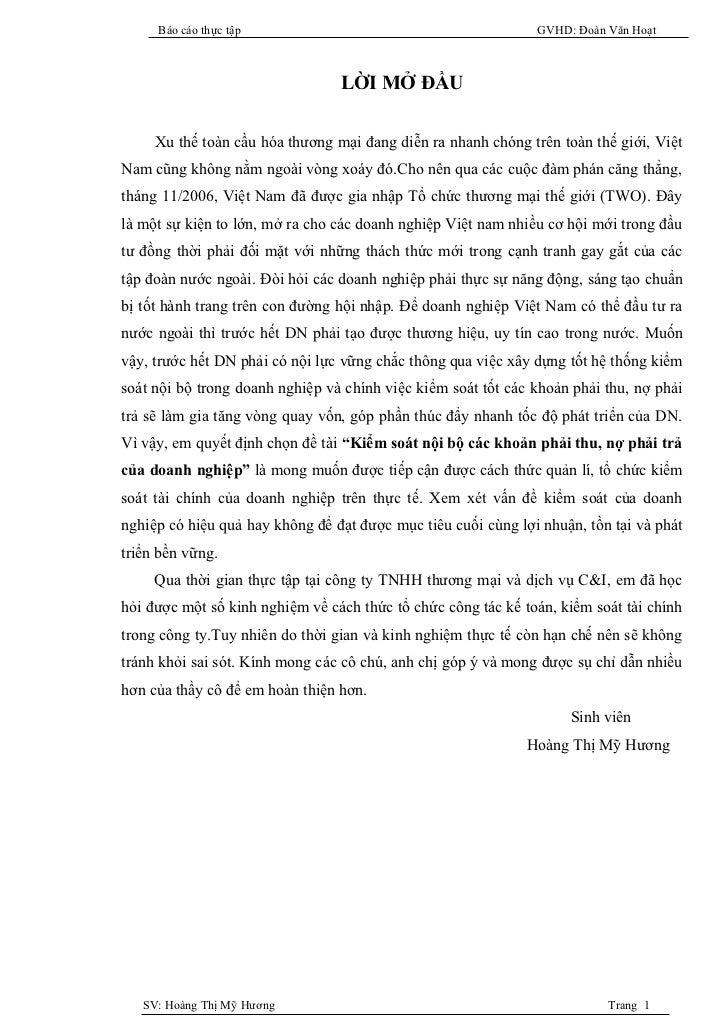 Báo cáo thực tập                                          GVHD: Đoàn Văn Hoạt                                 LỜI MỞ ĐẦU  ...