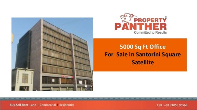 5000 Sq Ft Office For Sale in Santorini Square Satellite