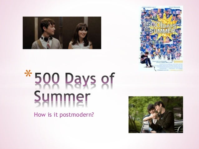 500 days of summer analysis What (500) days of summer writers neustadter and weber did was to take that   (the following analysis is taken from the script, rather than the.