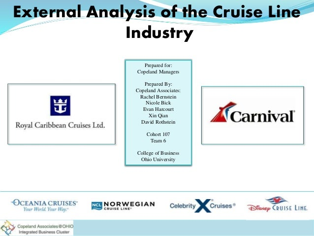 External Analysis Of The Cruise Line Industry