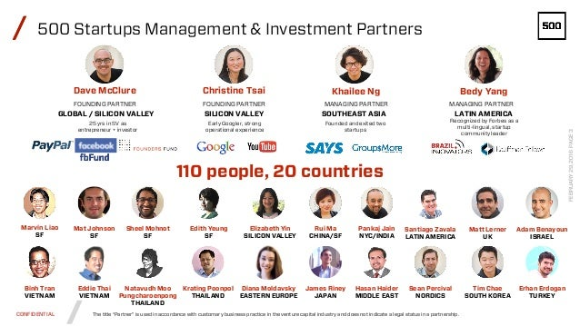 500 Startups corporate overview deck (2.23.2016) Slide 3