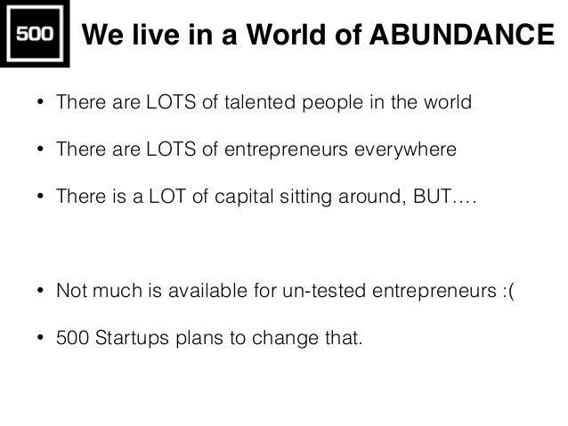 Who, What is an Entrepreneur?
