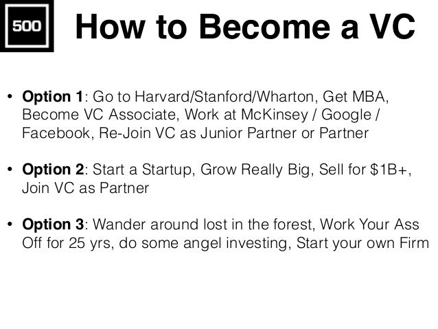 500 Startups + Stanford University Investor Education Program #Venture Capital Unlocked: Learn best practices of Silicon V...