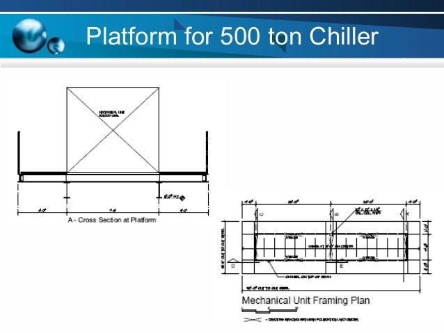 500 ton chiller project rh slideshare net
