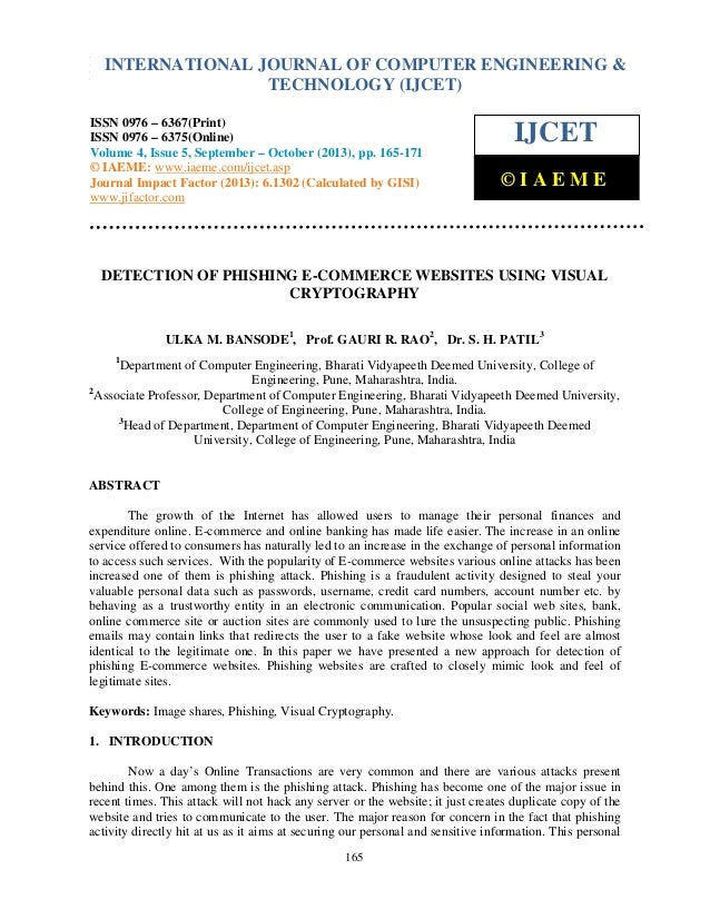 International Journal of Computer EngineeringOF COMPUTER ENGINEERING & INTERNATIONAL JOURNAL and Technology (IJCET), ISSN ...