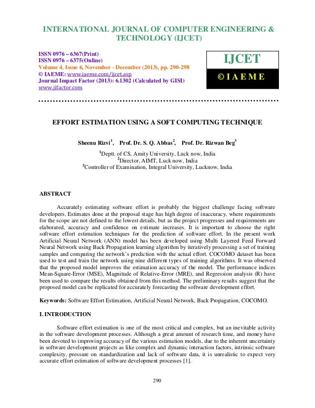 International Journal of Computer Engineering and Technology (IJCET), ISSN 0976-6367(Print), INTERNATIONAL JOURNAL OF COMP...