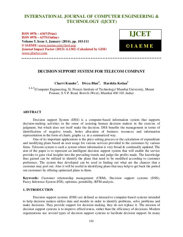 International Journal of Computer Engineering and Technology (IJCET), ISSN 0976INTERNATIONAL JOURNAL OF COMPUTER ENGINEERI...