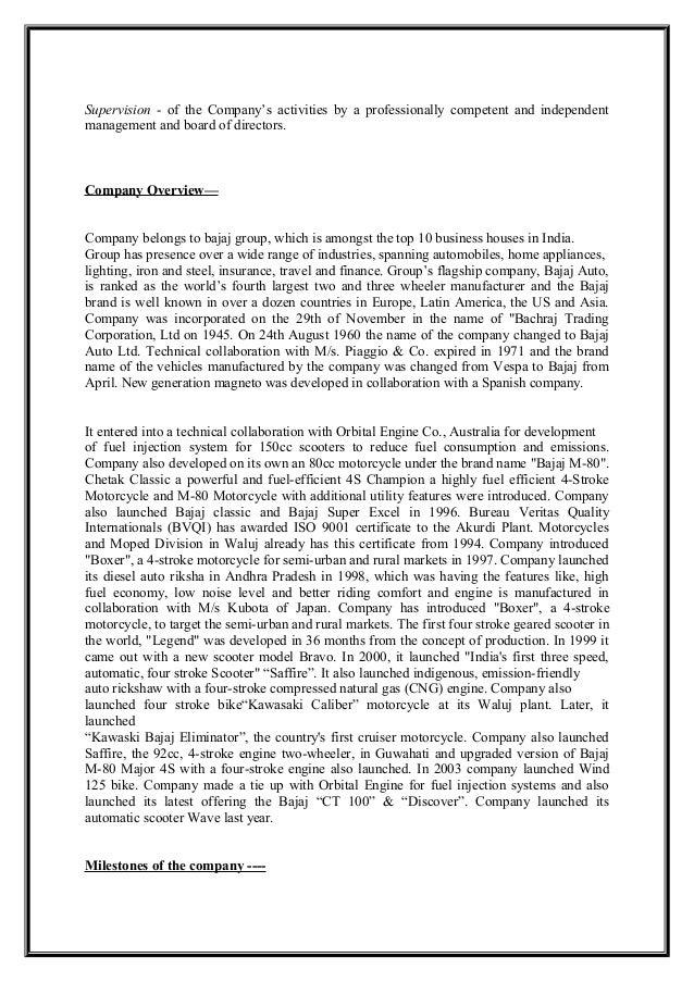 pest analysis of bajaj auto Bajaj auto ltd case study solution, analysis & case study help.